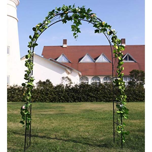 1. GO Steel Garden Arch, 72 High x 45 Wide, Garden Arbor for...