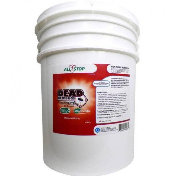AllStop Bed Bug Spray by Dead Bed Bugs - 5 Gal