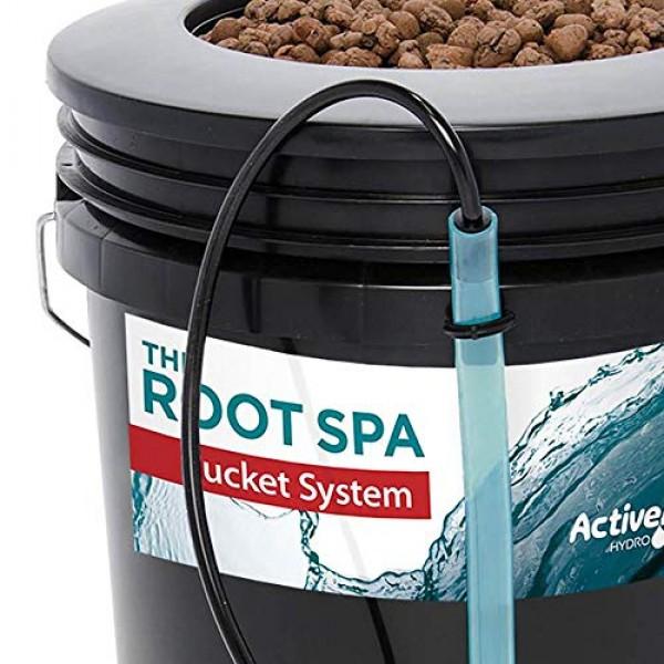 Active Aqua Root Spa 5 Ga. Hydroponic Bucket System Grow Kit, 2 Pa...
