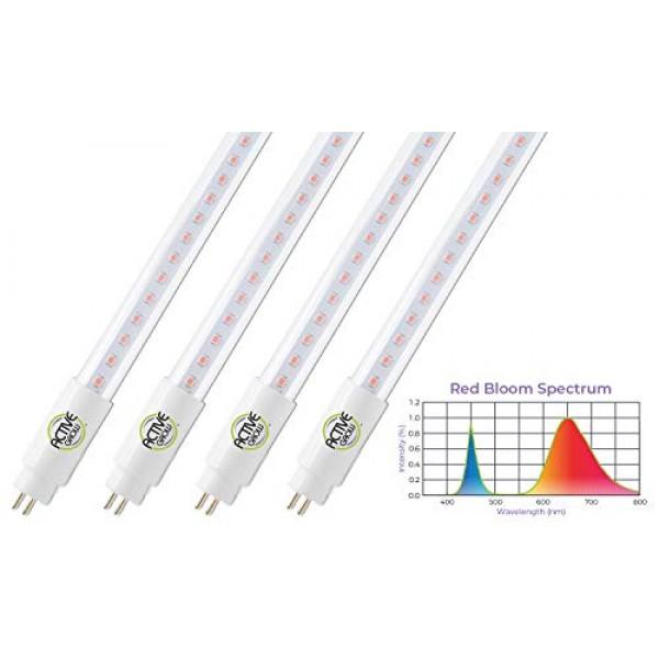 Active Grow T5 High Output 4FT LED Grow Light Tube for Fruits, Flo...