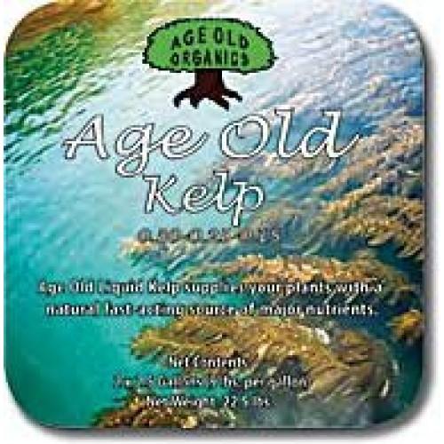 Age Old Organics 1K32C 0-30-0.25-0.25 Kelp Liquid Fertilizer, 32-Ou...