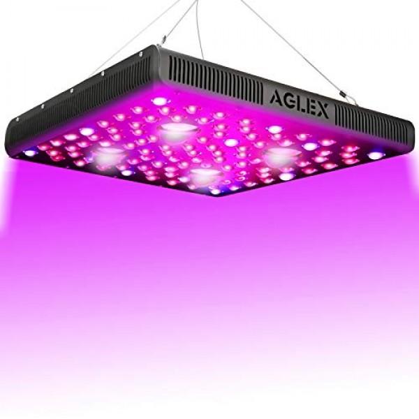 2000 Watt LED Grow Light, Full Spectrum UV IR COB Series Plant Gro...