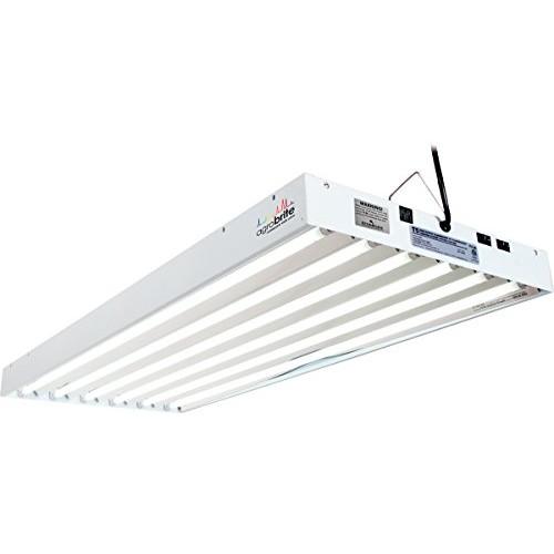 Agrobrite FLT46 T5 Fluorescent Grow Light System, 4 Feet, 6 Tube