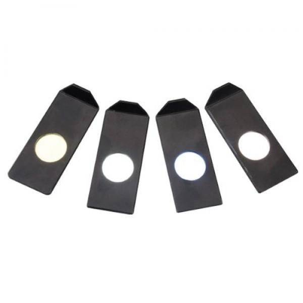 AmScope CF-4 Color Filters for Fiber Optic Microscope Illuminators