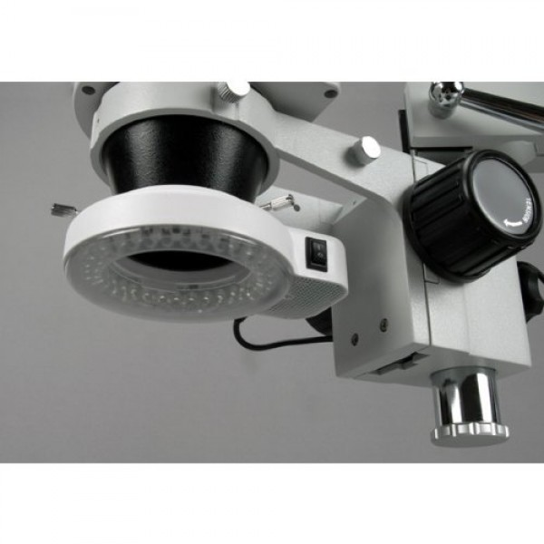 AmScope LED-56S 56 LED Microscope Ring Light with Dimmer