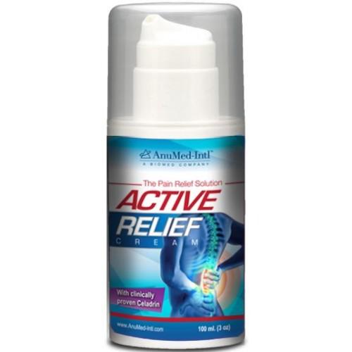 Anumed Int'l Active Relief Cream - 3 oz