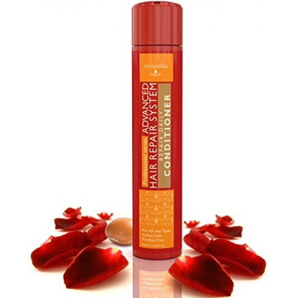Advanced Hair Repair Daily Hair Conditioner with Argan Oil and Mac...