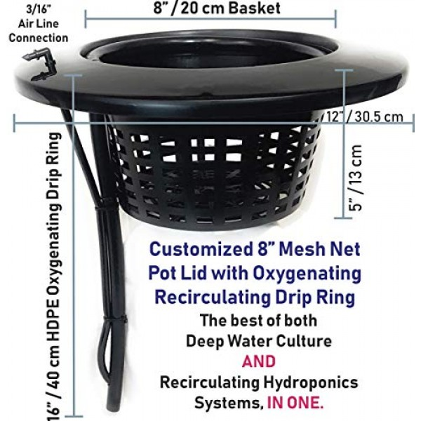 The Atwater HydroPod - Standard A/C Powered DWC Deep Water Culture...