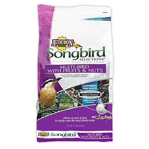 Audubon Park Songbird Selections 11980 Multi Wild Bird Food with F...