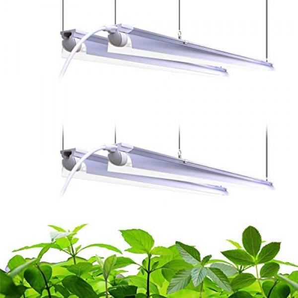 Barrina LED Grow Light 4FT,168W4 x 42W, 1000W Equivalent, Full S...