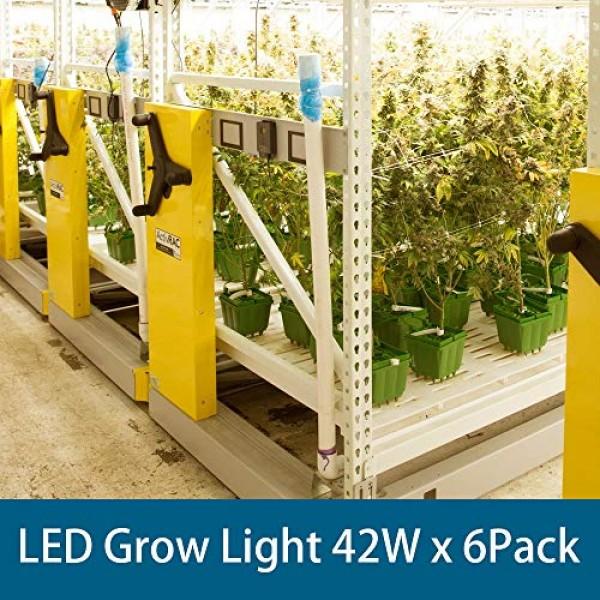 Barrina Plant Grow Light, 252W6 x 42W, 1400W Equivalent, Full Sp...