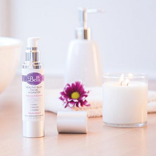 Belli Womens Healthy Glow Facial Hydrator Facial Moisturizer, 1.5...