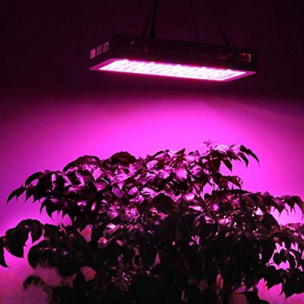 BESTVA DC Series 1500W LED Grow Light Full Spectrum Dual-Chip Grow...