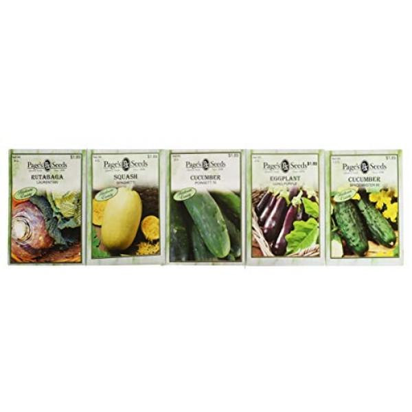 Premium 30 Variety Vegetable Seeds! All Seeds are Heirloom, 100% N...