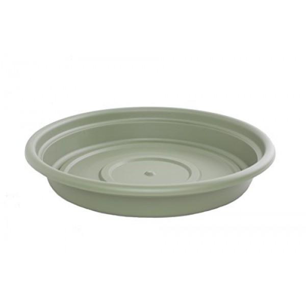 Bloem SDC16-42 Dura Cotta Plant Saucer, 16-Inch, Living Green