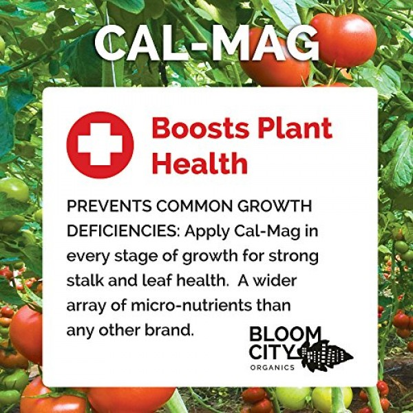 Bloom City Professional Grade Ultra Pure Cal-Mag Growing Supplemen...