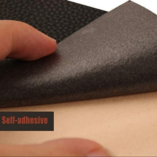 10 Pieces Leather Patches Leather Repair Kit for Couch Furniture S...