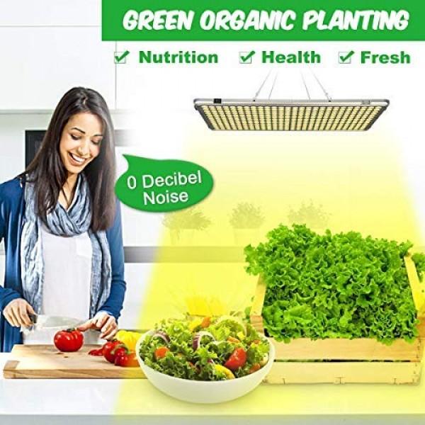 Bozily Led Grow Lights for Indoor Plants Full Spectrum 300W, Sunli...