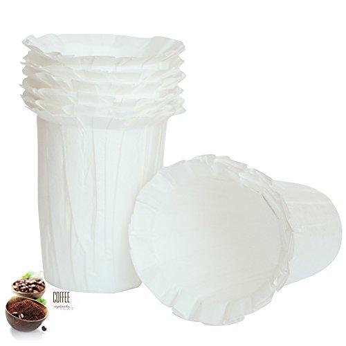 BRBHOM Disposable Filters Paper K Carafe Filter Cups K Carafe Comp...