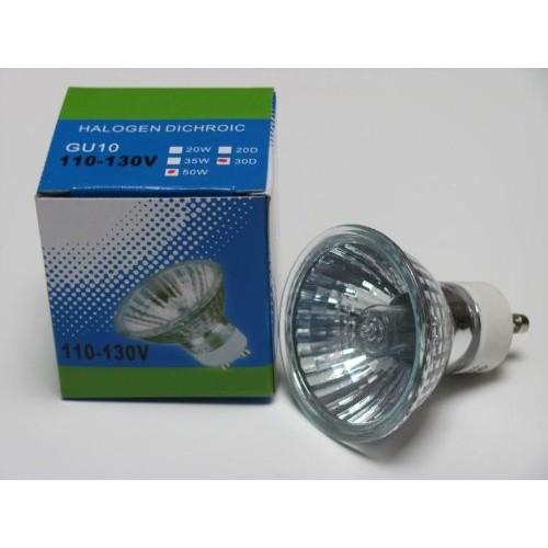 CBconcept 10XGU1050W Halogen Light Bulb JDR GU10 120Volt 50Watt - ...