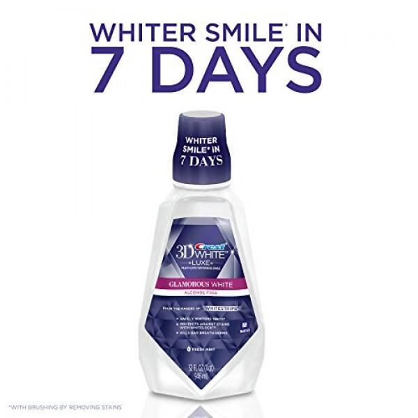 Crest 3D White Luxe Glamorous White Multi-Care Whitening Fresh Min...