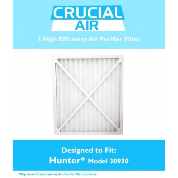 1 Hunter 30930 Air Purifier Filter; Fits Hunter Models: 30200, 302...