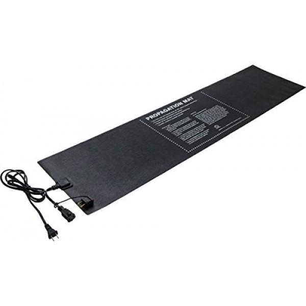 Hydrofarm Propagation Heat Mat, 60 W, 12 x 48 Inch, Daisy Chainable