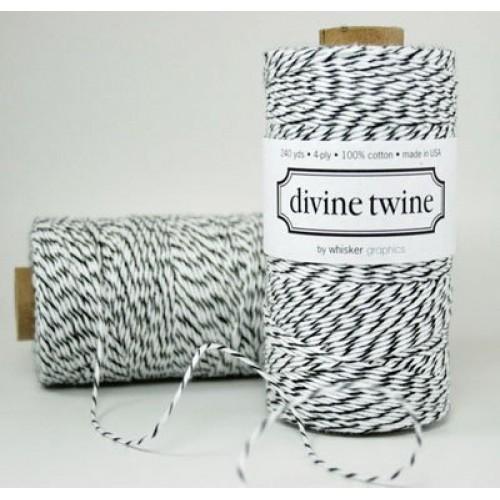 Black Licorice Baker Divine twine - 240 yrds