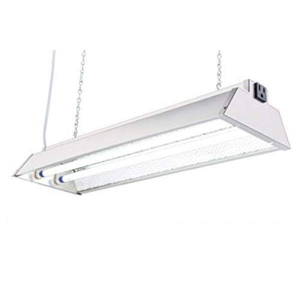 DuroLux DL822N T5 HO 2Ft 2 Fluorescent Lamps Grow Lighting System ...