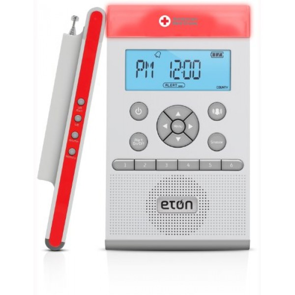 American Red Cross ZoneGuard Weather Radio - White ARCZG100W