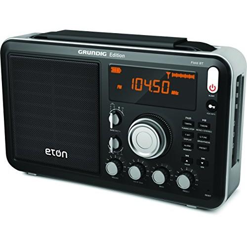 Eton Field AM / FM / Shortwave Radio with RDS and Bluetooth, NGWFBTB