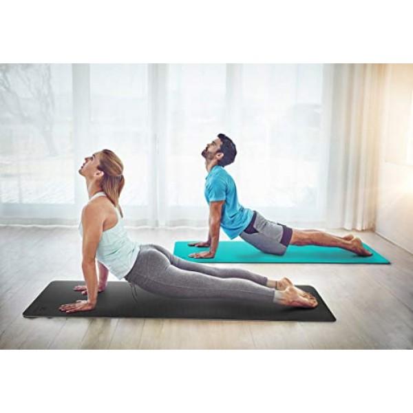 Ewedoos Yoga Mat Non Slip TPE Yoga Mats Exercise Mat Eco Friendly ...