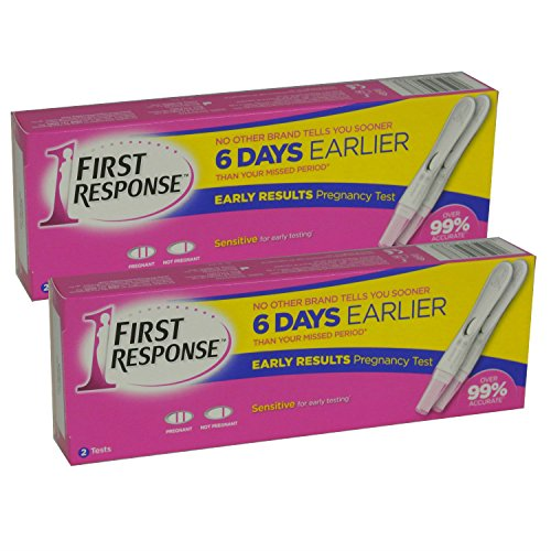 2 x First Response Pregnancy Testing Kits OLD STYLE 2 Test Pack ...