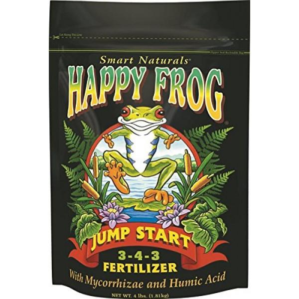 FoxFarm FX14032 4-Pound FoxFarm Happy Frog Jump Start Fertilizer 3...
