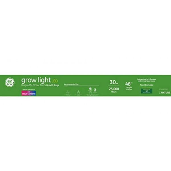 GE Lighting 93101228 30-Watt LED Grow Light Fixture for Indoor Pla...