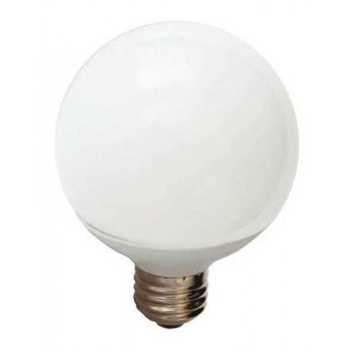 LED Lamp, Globe, G25, 5.0W, 120V, 350 lm