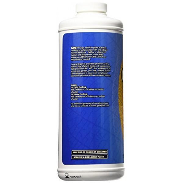 General Hydroponics GH5312 CaMg+ Plant Nutrition, Quart