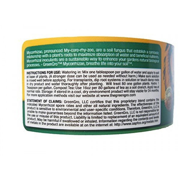 GreenGro Ultrafine All in One Blend, 4-Ounce
