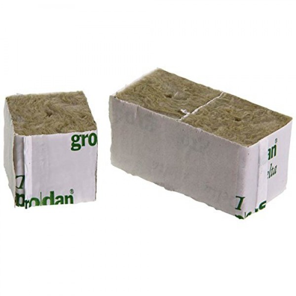 Grodan Wrapped Mini Blocks 2 x 2 x 1.5 Pack of 24