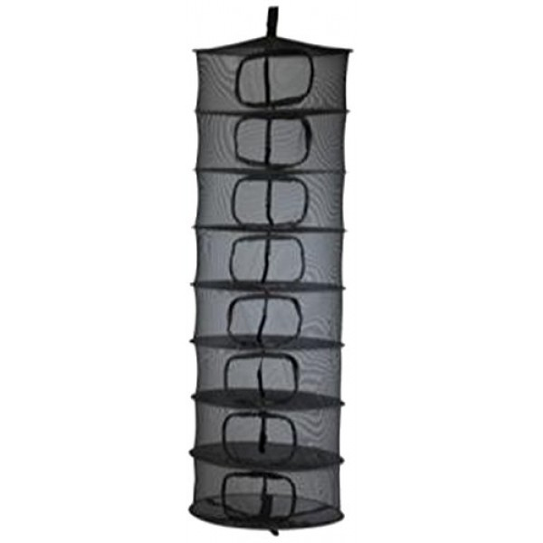 Growers Edge Dry Rack Enclosed w/ Zipper Opening - 2 ft