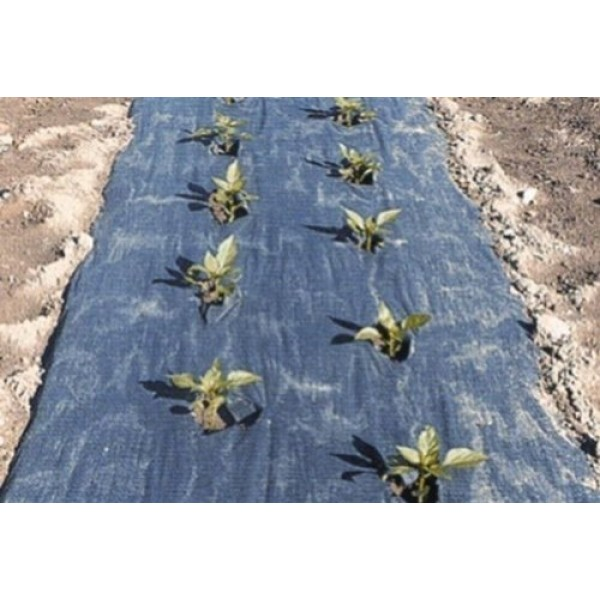 4 Ft. X 100 Ft. Black Biodegradable Planters Paper Mulch By Grower...