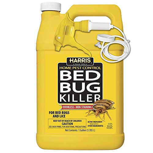 Harris Bed Bug Killer, Liquid Spray with Odorless and Non-Staining...
