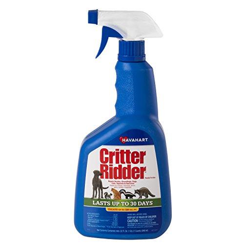 Havahart Critter Ridder 3145 Animal Repellent, Ready-to-Use Spray,...