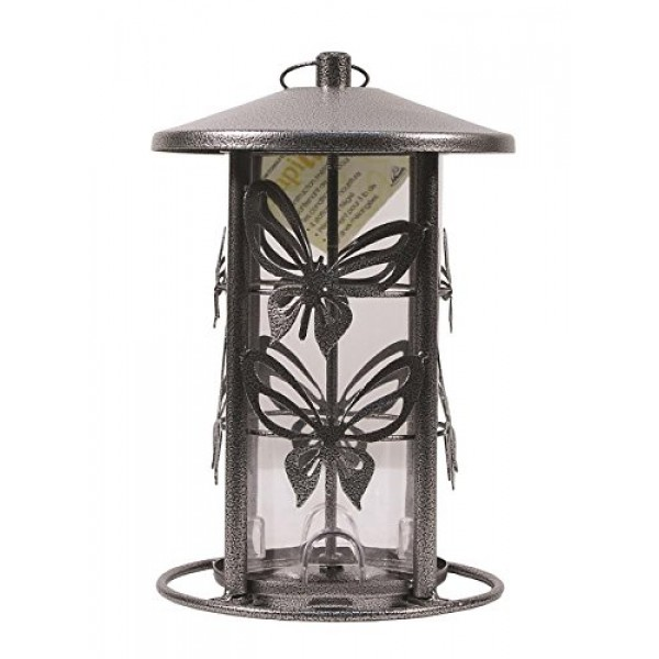 Heath Outdoor Products The Butterfly Seed Capacity Decorative Meta...