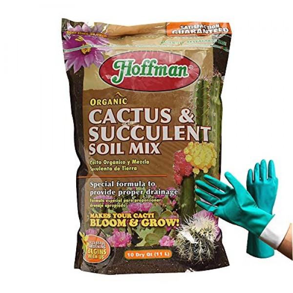 10 Quart Hoffman 10404 Organic Cactus and Succulent Soil Mixed Pot...
