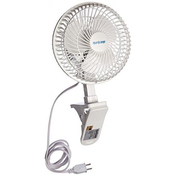 Hurricane Clip Fan - 6 Inch | Classic Series | Powerful Clamp Fan ...