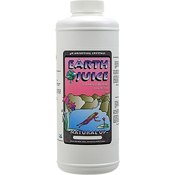 HydroOrganics HOH81512 Earth Juice Natural Up , 2-Pound