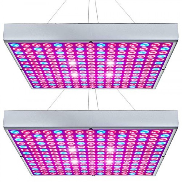 Hytekgro LED Grow Light 45W Plant Lights Red Blue White Panel Grow...
