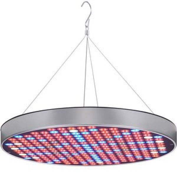 LED Grow Light Bulb Panel 50W UFO Plant Growing Lamp with 250 LEDs...