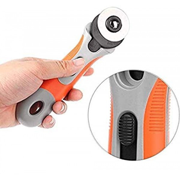 45mm Rotary Cutter 9 Set, Precise Cutting Rotary Cutter with 8 Rep...
